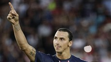 Zlatan Ibrahimovic v dresu Paris St. Germain
