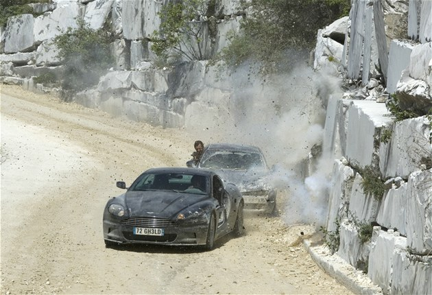 Aston Martin ve filmu Quantum of Solace