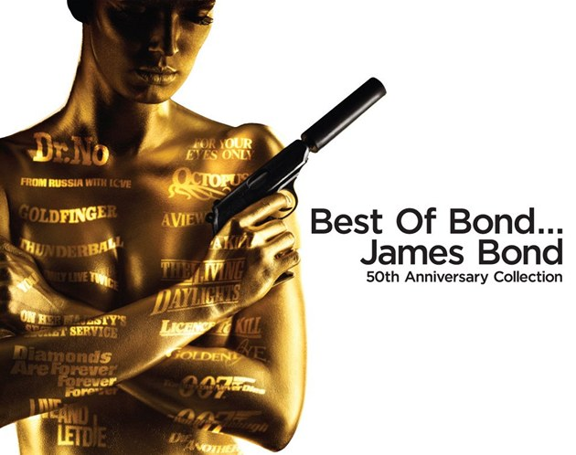 Best Of... James Bond (obal CD)