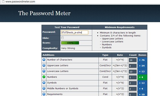 Passwordmeter.com
