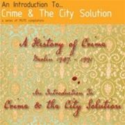 Crime & The City Solution: A History of Crime (obal)