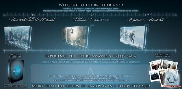 Assassin's Creed antologie