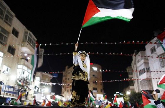Výsledek obrázku pro foto hlasování palestinci