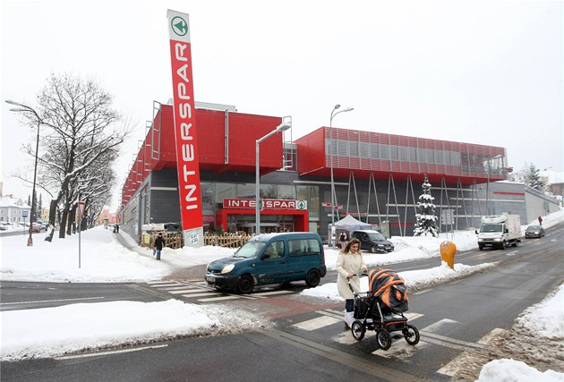 Supermarket Interspar v Liberci.