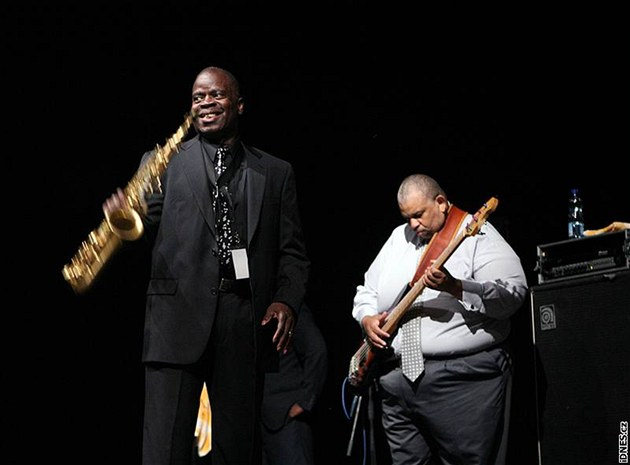 Maceo Parker na Colours of Ostrava 2009
