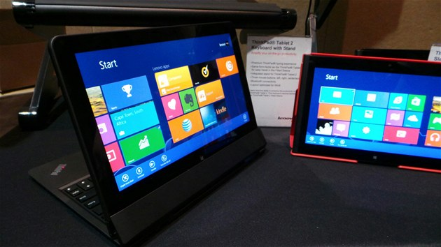 Windws 8 na tabletu ThinkPad Helix