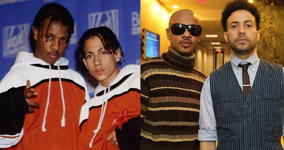 Chris Kelly a Chris Smith z dua Kris Kross v roce 1992 a 2013