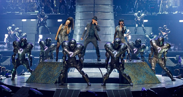 Z p�edstavení Michael Jackson: The Immortal World Tour