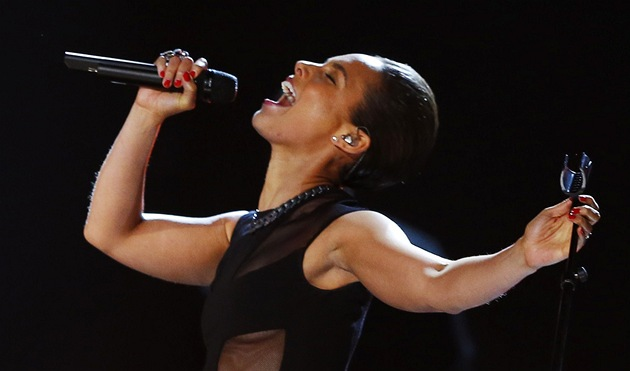 Grammy za rok 2012 - Alicia Keys