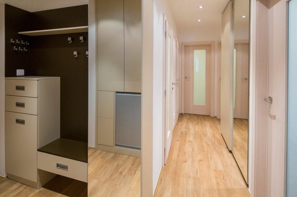 Rekonstrukce panelového bytu 4+1