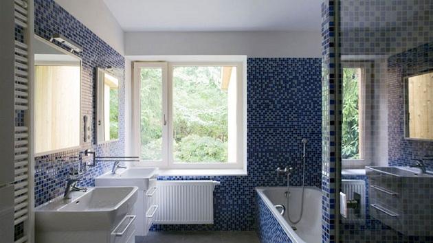 Minimální výška obkladů v koupelně