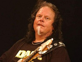 Smokin´ Joe Kubek v roce 2005 na festivalu Blues Alive v Šumperku