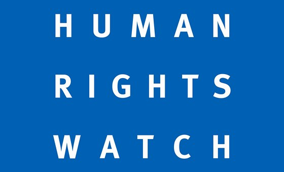 Logo organizace Human Rights Watch