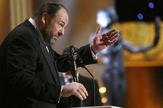 Ceny SAG - James Gandolfini - Los Angeles (27. ledna 2008)