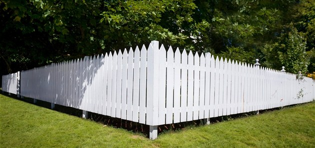 Určení vlastnictví plotu