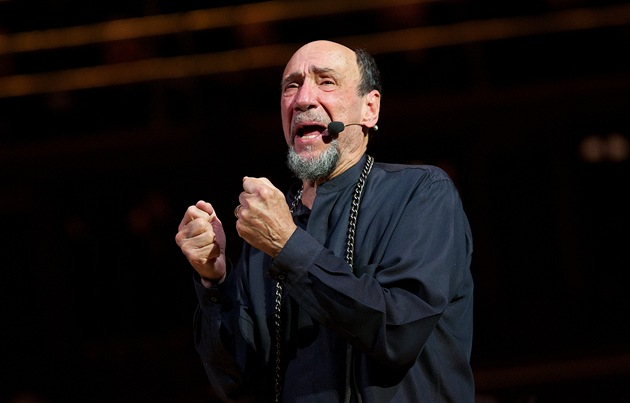 F. Murray Abraham vystupoval na festivalu Prague Proms.