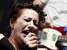 Amanda Palmer na festivalu Rock for People (2. července 2013)