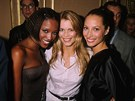 Naomi Campbellov�, Claudia Schifferov� a Christy Turlingtonov� (1996)
