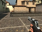 Pistole Desert Eagle v akci Counter-Strike