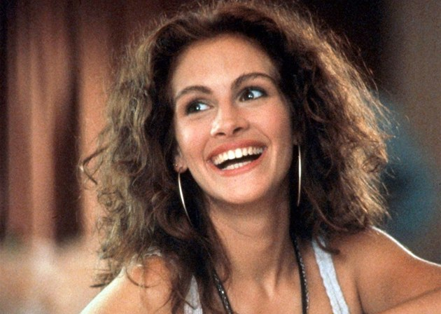 Julia Robertsová ve filmu Pretty Woman (1990)