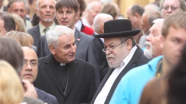 """V Třebíči oslavili deset let s oceněním """"Světové dědictví UNESCO"""""""