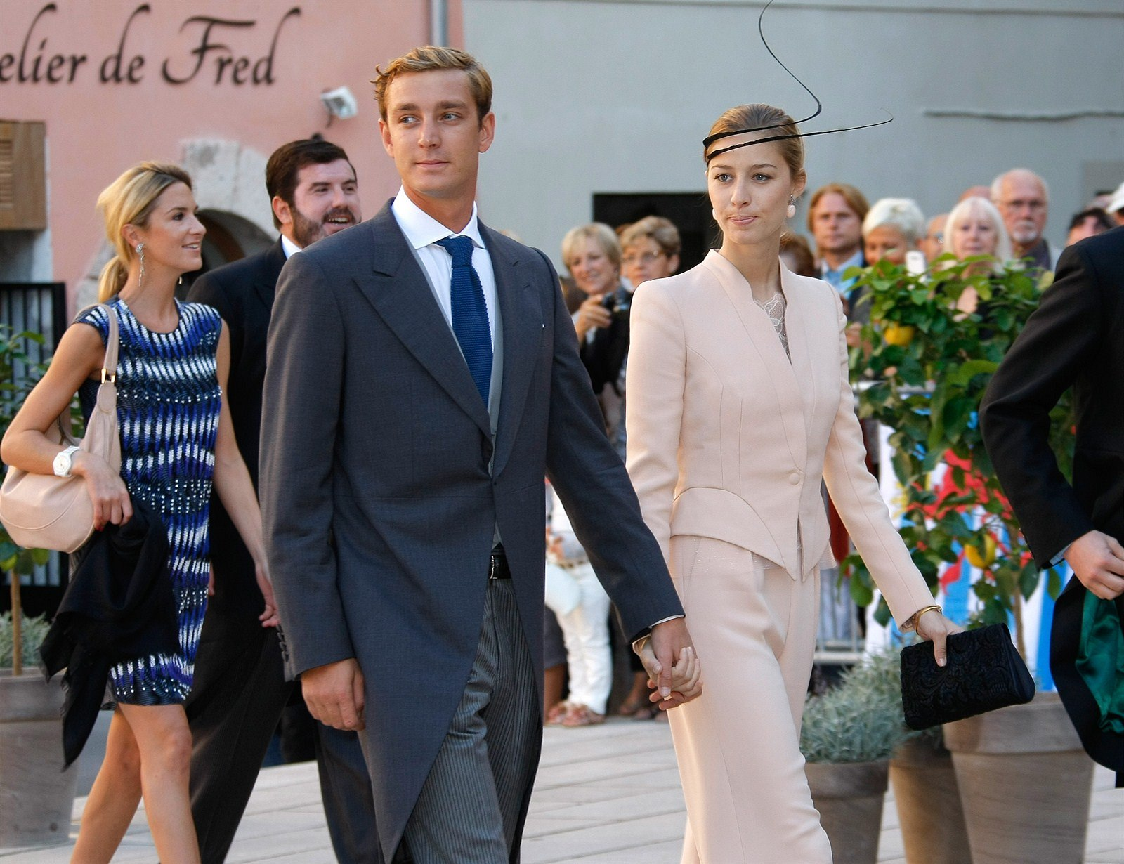 Pierre Casiraghi a Beatrice Borromeo
