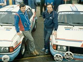 John Haugland a Škoda 130 LR v roce 1986