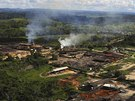 Sawmills which process illegally logged trees from the Amazon rainforest are...