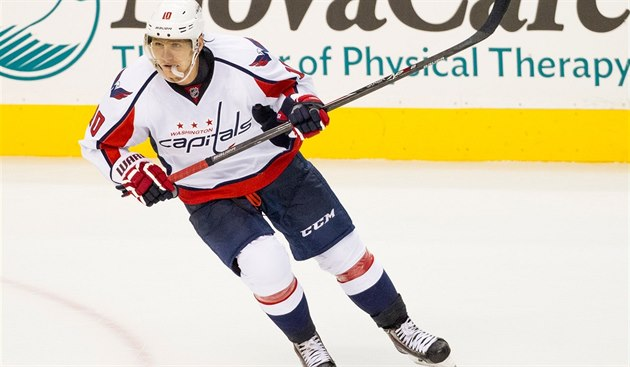 Martin Erat v dresu Washingtonu.