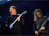 James Hetfield a Kirk Hammett