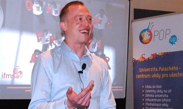 Max Blanck, který se před třemi lety nakazil virem HIV při nechráněném.