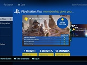PlayStation 4 - p�edplatná PlayStation Plus je pot�eba pro hraní her on-line