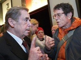 Václav Havel a Lou Reed