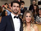 Kaley Cuoco a Ryan Sweeting (18. ledna 2014)