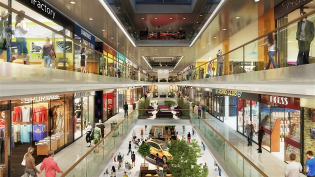 Asi 60 procent Fabriky zaberou obchodní prostory, zbytek bude využit pro kanceláře, byty, parkování, část bude sloužit také zlínské univerzitě.