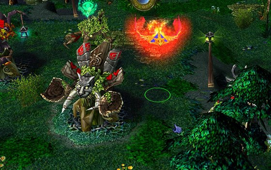 Z�kladn� mapa pro Defense of the Ancients z modifikace pro Warcraft 3
