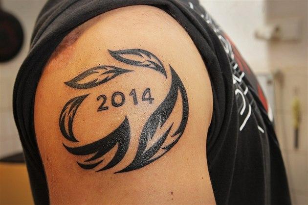 tetování Němec hubený