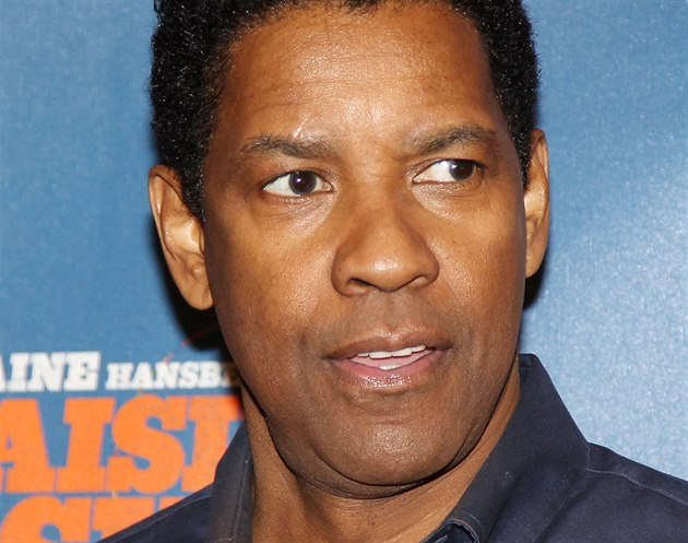 Denzel Washington (18. února 2014)