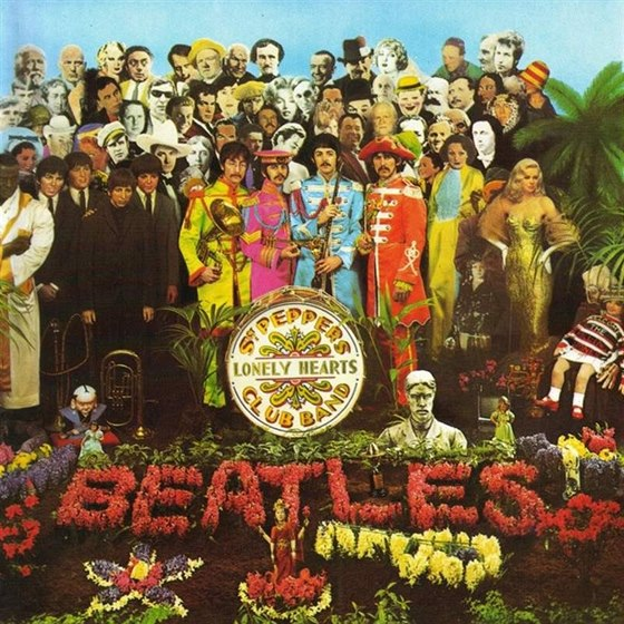 Slavný obal alba Sgt. Pepper´s Lonely Hearts Club Band