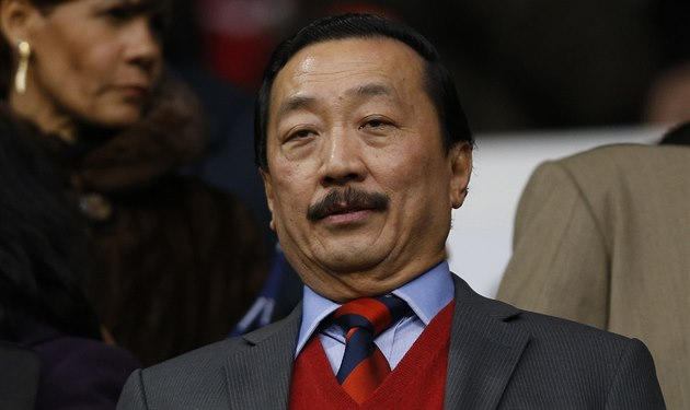 Vincent Tan, majitel klubu Cardiff City