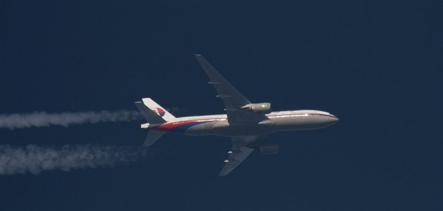 Boeing 777-200 spole�nosti Malaysia Airlines