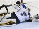 Ryan Miller v brance St. Louis Blues