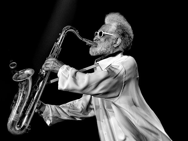 Didier Jallais: Sonny Rollins (1. místo v soutěži Jazz World Photo 2014)
