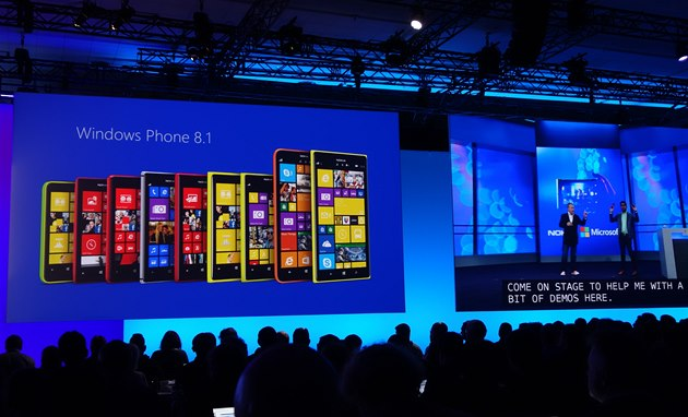 Microsoft představil Windows Phone 8.1
