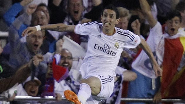 Angel Di María opou�tí Real Madrid