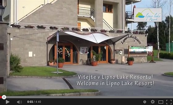 Prohlédněte si video z apartmánů Lipno Lake Resort