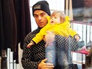 Robbie Williams s dcerou Teddy