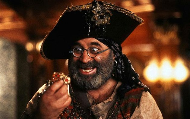 Bob Hoskins ve filmu Hook (1991)