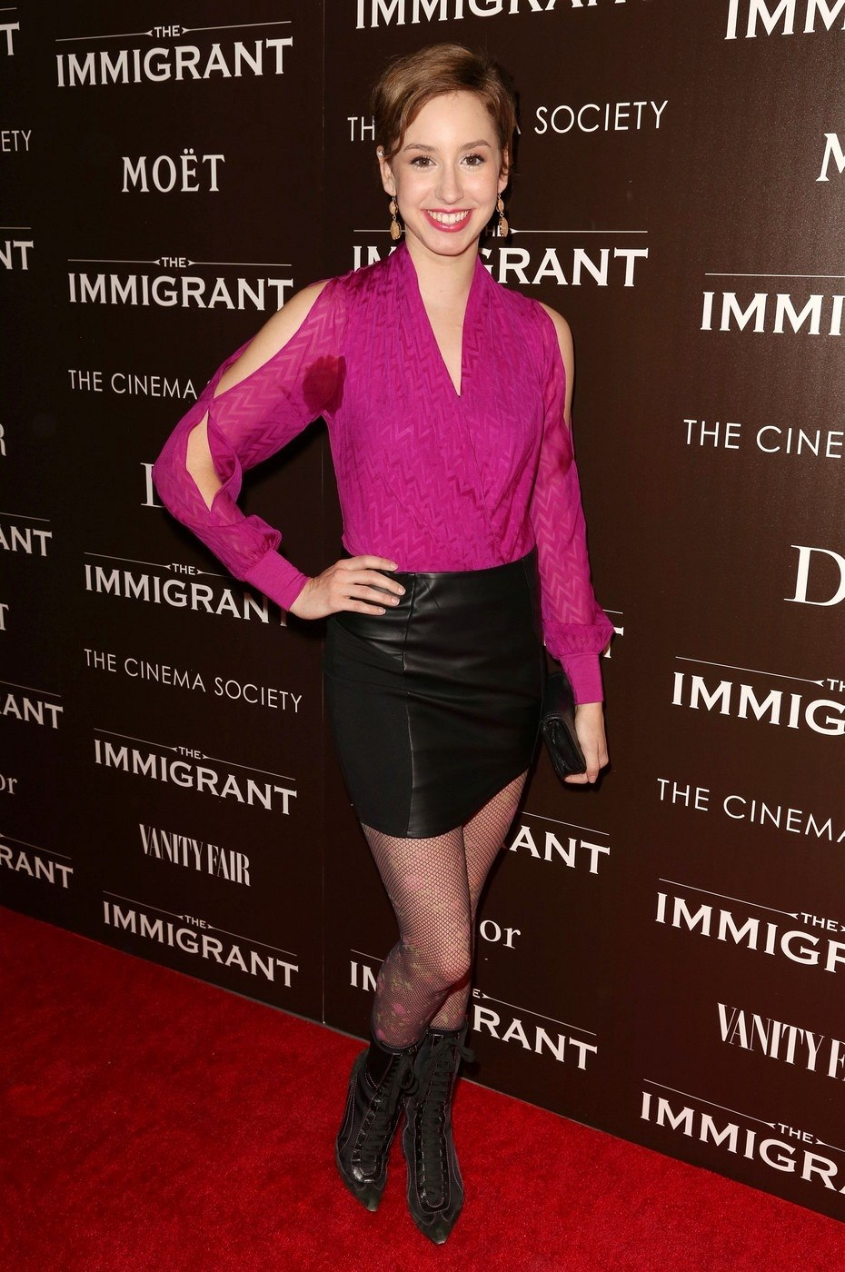 Jazmin Grace Grimaldiová na premiéře filmu The Immigrant (New York, 6. května...