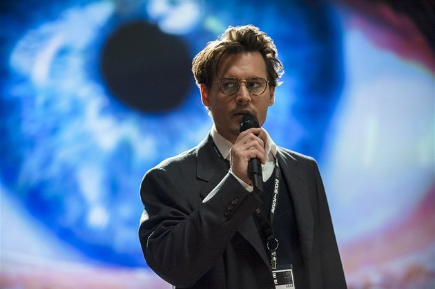 Johnny Depp ve filmu Transcendence